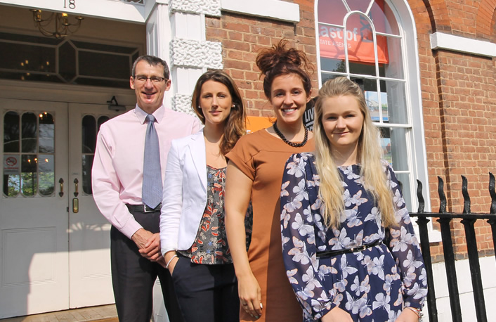 Team Photo: Exeter Sales and Lettings Team - East of Exe